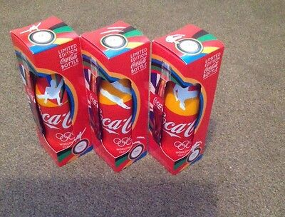 Olympics 2012 Coca Cola limited edition, full set, collectors bottles Boxed.
