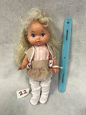 VINTAGE 1988 Lil Miss Doll Dress Up Clothes Crimped Hair Mattel