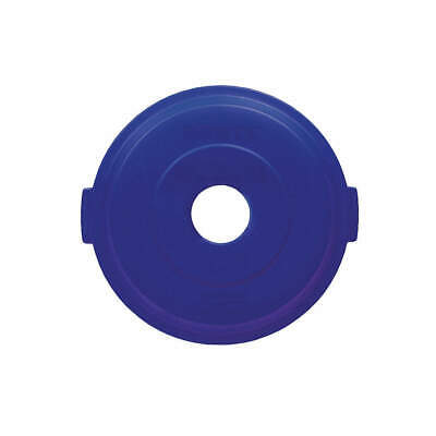 RUBBERMAID Bottle/Can Recycling Top,HDPE,Blue, 1788376, Blue