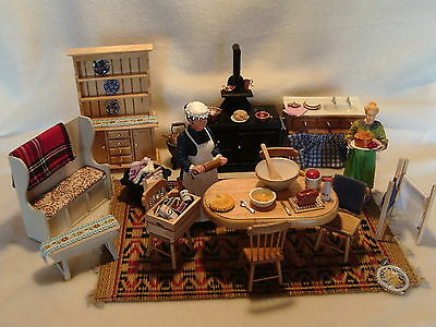 Dolls House Furniture Kitchen  mixed lot 1:12 scale