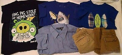 Boy Size 6 Spring Summer Lot of 6 Clothes