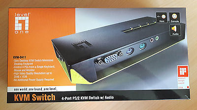Level-One KVM-Switch KVM-0411