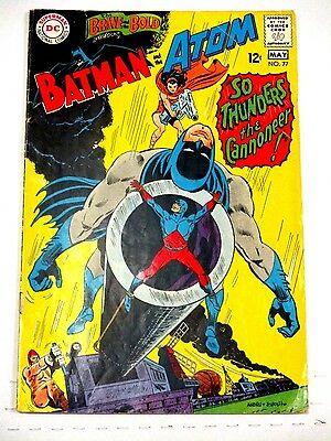 Brave And The Bold # 77 Batman And The Atom Vg-