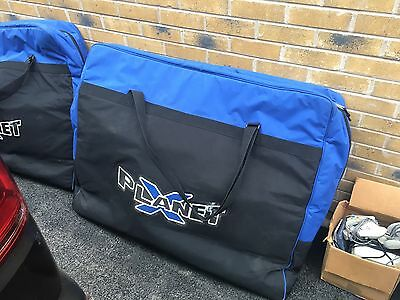 Planet X Airline Bike Transport Padded Bag Flight Case