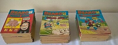 Job Lot of 70 Beano Comic Book Library from 1980s