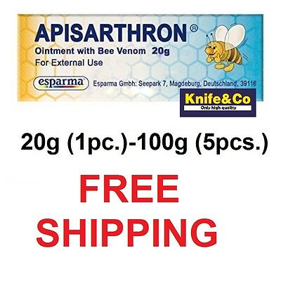 Apizartron Apisarthron. ointment 20g tube. joints, bones, muscles. Bee Venom