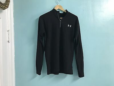 Under Armour Men's 1/2 Zip Pullover Size Large Running Fitness Workout #A139