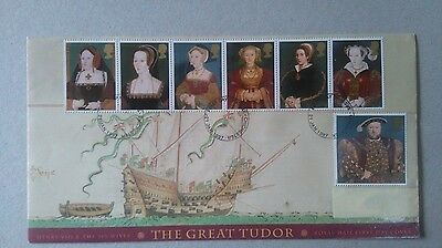 Great Britain stamps - first day cover