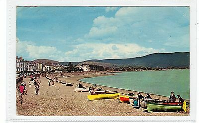 WARRENPOINT: Co Down Northern Ireland postcard with regional stamp (C28940)