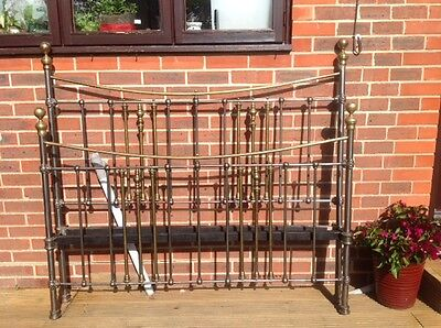 Antique Victorian King Size Bed