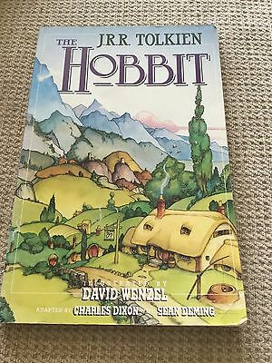 the hobbit by jrr tolkien. graphic novel