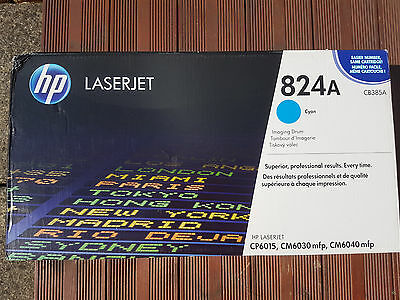 HP Imaging Drum, Cyan 824A, CB385A for CP6015,CM6040 mfp, CM6030 mfp