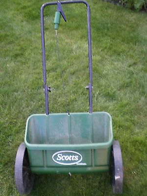 Scotts Miracle-Gro EvenGreen Drop Spreader For Garden Sowing Grass Lawn Food