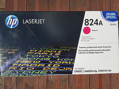 HP Imaging Drum, Magenta 824A, CB387A for CP6015,CM6040 mfp, CM6030 mfp