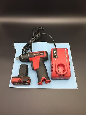 "Snap On CT661 Micro Lithium Cordless 7.2V 14.4V 3/8"" IMPACT WRENCH Set"