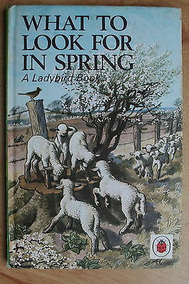 Ladybird What to Look for in Spring - Series 536  Matt 40p Vintage