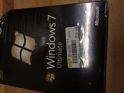 Windows 7 Ultimate UPGRADE 32 & 64-Bit Brand New  Microsoft GLC-00184