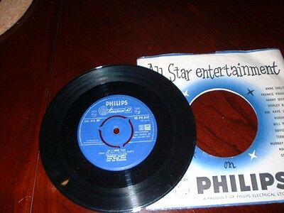 Shirley Bassey  As I Love You Single Record