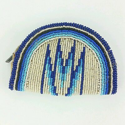 Native American Seed Bead Pouch Purse