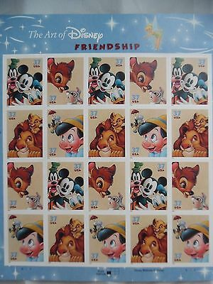 4 Sheets of Postage Stamps--Disney Friendship, Celebration, Romance (below cost)