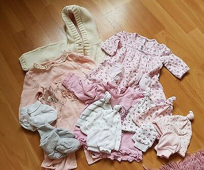 New Baby Girl Clothes Bundle - First size
