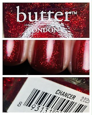 London Butter Nail Polish Lacquer NEW 11ml # CHANCER Free And Safe Postage