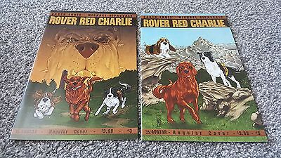 ROVER RED CHARLIE #3 + 5 of 6 (2014) AVATAR - 2 Comics