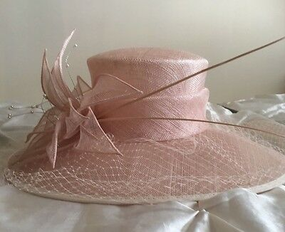 Pale Pink Phase Eight Occasion Wedding Women's Formal Hat