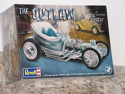 """Revell #85-4294 1/25 Ed Roth's""""the Outlaw"""" Kit F/s"""