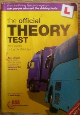 Official theory test (large vehicles)