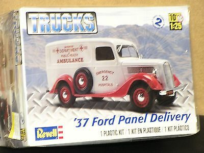 Revell #85-4930 1/25 37 Ford Panel Delivery Truck Open/ F/si
