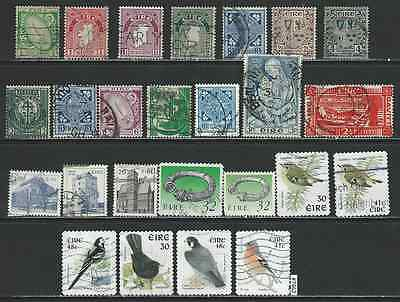 #7462 IRELAND Small Lot Used Stamps