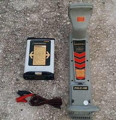 Radiodetection PXL2-4M  & RD400LCTx Pipe Cable Locator Transmitter