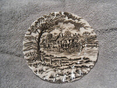 Vintage Royal Mail Fine Staffordshire Ironstone side Plate