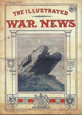 The Illustrated War News 5th December 1917 World War I The Great War 1914 - 1918