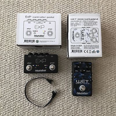 Neunaber Wet V2 Stereo Reverb Pedal with EXP Controller