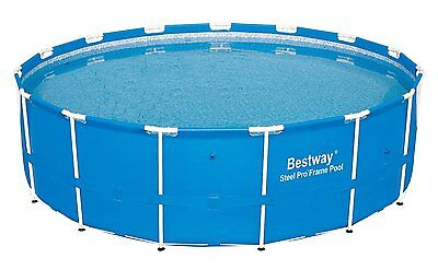 """Bestway 10' x 30"""" Steel Pro Frame Above Ground Swimming Pool Set 