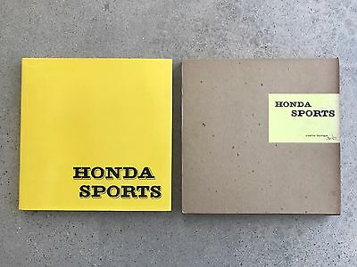 History Of Honda TwinCam Sports S500 S600 S800 Hardcover Book Japan As280 As285