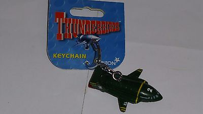 Thunderbirds : Thunderbird 2 keychains / keyrings by Carlton with tags