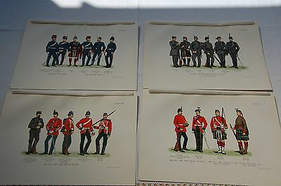 4 Colour Plates  Records of the Scottish Volunteer Force 1859/1908 J M Grierson