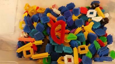 Lots Of Small Peices Of Stickle Bricks Over A Kilo