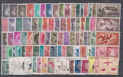Spain - Fernando Poo (Fernando Po) - Complete Collection Mnh From 1960 To 1968