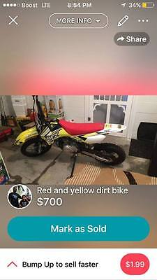 great dirt bike for that young person that loves to ride!