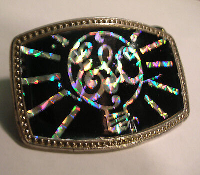 "RARE  1970's  "" ELO ""  BELT  BUCKLE  "" ELECTRIC  LIGHT  ORCHESTRA"""