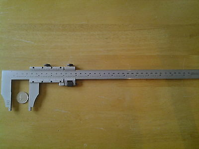 "moore and wright vernier caliper, 12""  /  300mm"