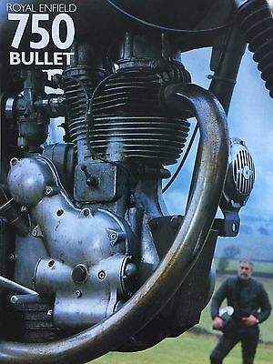 Royal Enfield 750 Bullet - Original 5 Page Motorcycle Article