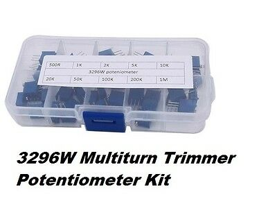 3296W Multiturn Trimmer Potentiometer Kit High Precision