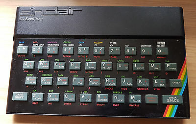 Sinclair ZX Spectrum Vintage Personal Computer with RARE ZX interface 1