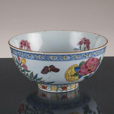 Chinese Porcelain Bowl Famille Rose