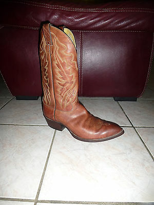 Santiags homme western / cow-boy bottes JUSTIN